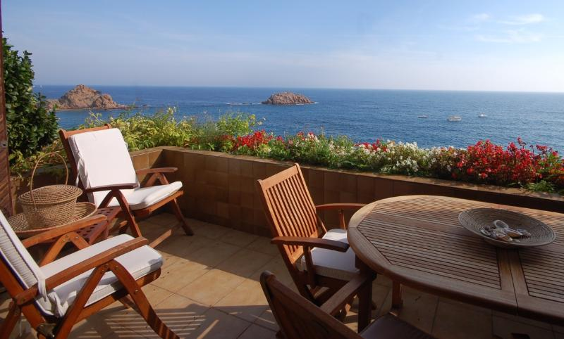 Views from the magnificent and privileged terrace ... - EXCLUSIVE SEA VIEWS APARTMENT  in TOSSA DE MAR - Tossa de Mar - rentals