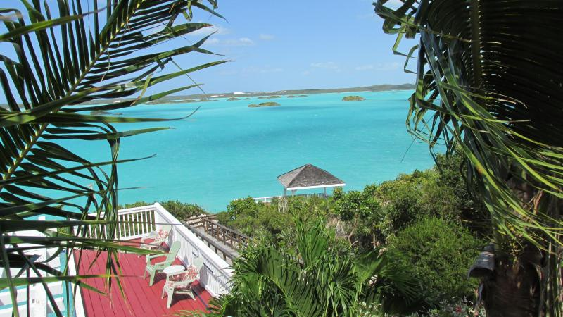 Pool with the perfect view - Aqua View Villa, Stunning Pool, Waterfront-  Book NOW !! - Providenciales - rentals