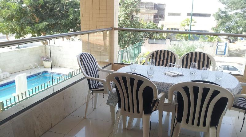 Shirat Hayam - Lovely 3 bedroom apartment with pool, South Beach Netanya - PK04KP - Image 1 - Netanya - rentals