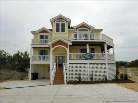 Front Elevation - Orions Belt - Kitty Hawk - rentals