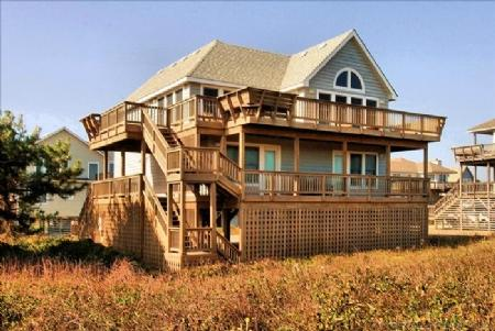 Oceanfront side of house - Herring Gull - Duck - rentals