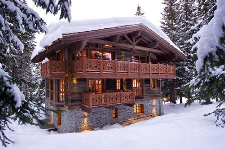 Chalet Les Gentianes- in renowned ski resort, Ski-in/Ski out & full staff - Image 1 - Courchevel - rentals
