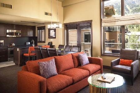Picturesque view Hotel Terra One Bedroom Suite with Ski-in/ski out & jacuzzi - Image 1 - Teton Village - rentals