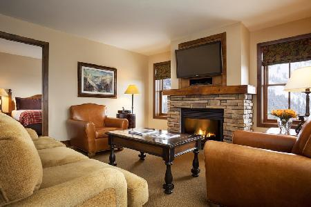 Scenic Teton Mountain Lodge & Spa One Bedroom Suite with Ski-in/ski out & jacuzzi - Image 1 - Teton Village - rentals