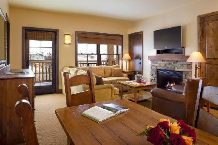 Teton Mountain Lodge & Spa 3 Bedroom Suite with WiFi and Mountain Views - Image 1 - Teton Village - rentals