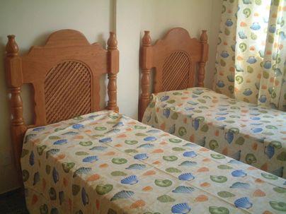 Quarto com duas camas do Apartment Beira Mar/Fortaleza - Apartment Beira Mar/Fortaleza/Brasil - Fortaleza - rentals