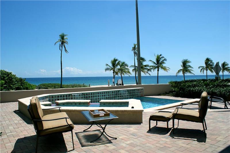 Ocean Elegance... 6BR, Ocean front property! Hot Deal January 2-31! - Image 1 - Fort Lauderdale - rentals