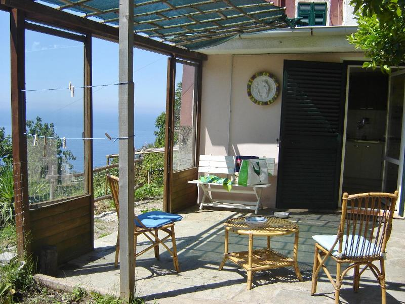 The terrace sea view - Home Cinque Terre - Vernazza - rentals