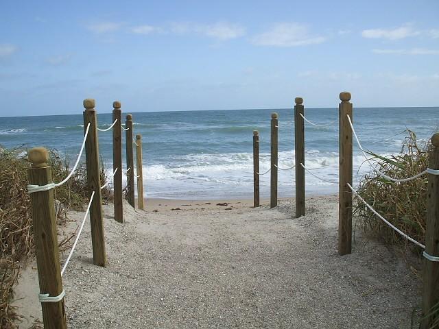 Access to beach - Nettles Island 1077, Jensen Beach, Florida - Jensen Beach - rentals