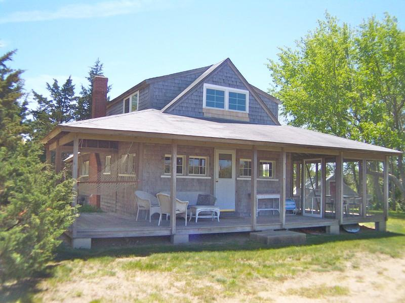 061-O - Secluded Cape Cottage, 3-5 min walk to Beach:061-O - Orleans - rentals