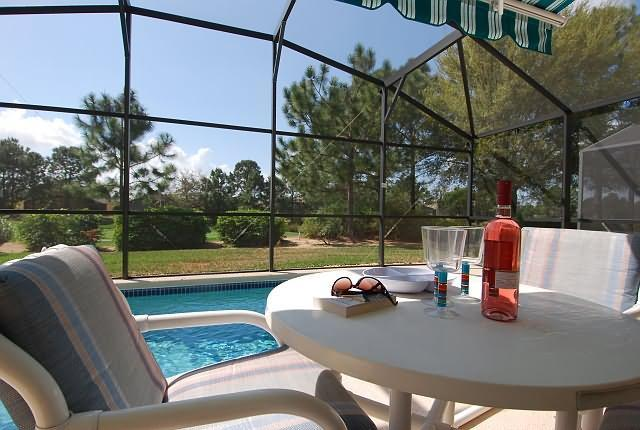 View from pool deck - SANDHURST  VILLA - Haines City - rentals