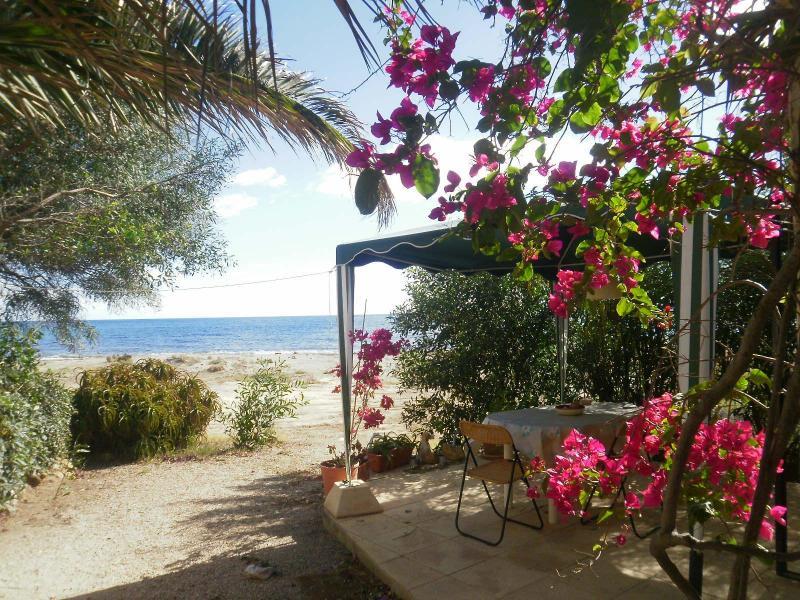 Terrace on the beach - FISHERMANSHOUSES SELF CATERING STUDIO IN MAZARRON - Mazarron - rentals