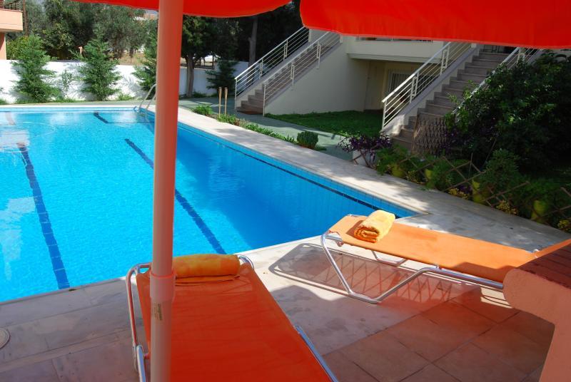 Pool - Sun-leisure-pool-sea, spa, cazino! Special offers! - Loutraki - rentals