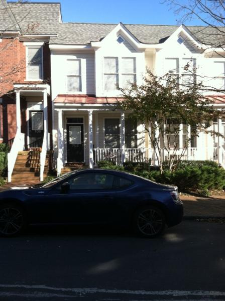 Exterior Front - Fully Furnished Condo in Oregon Hill Section - Richmond - rentals