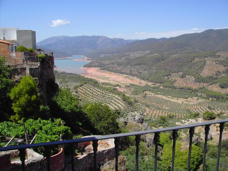 Views from the terrace - Rural holiday accommodation with spectacular views - Province of Jaen - rentals