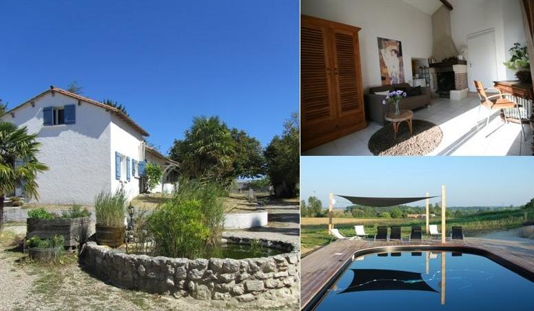 Countryside B&B apartment with pool in SW France - Image 1 - Saint-Jean-de-Duras - rentals