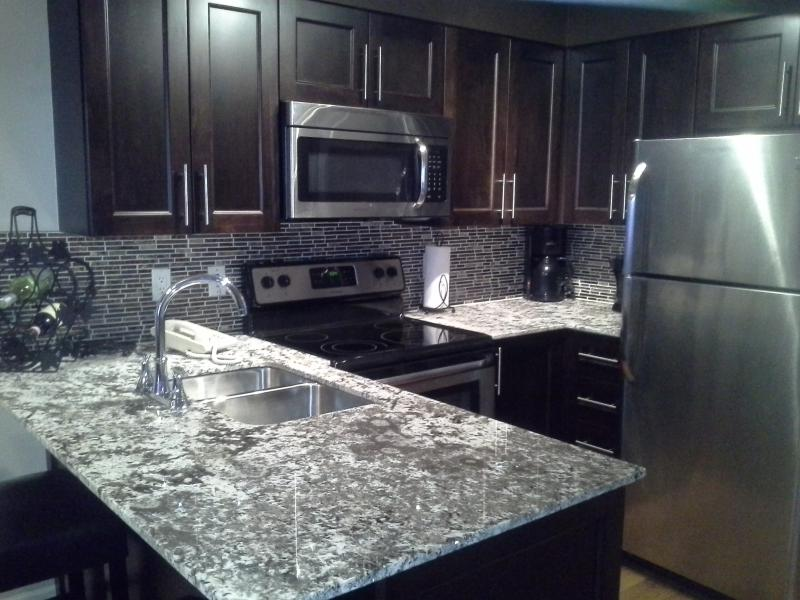 modern updated kitchen - Upper Village Executive condo *Sleeps 4*  ski in/ski out - Whistler - rentals