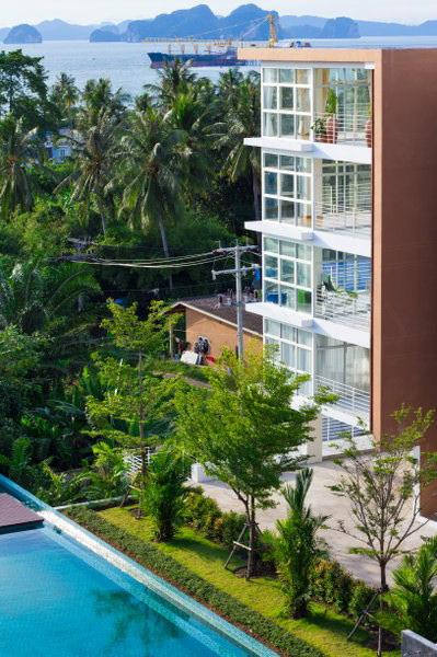 sea view - Condominium 1 bedroom seaview for rent Klongmong beach A12 - Ao Nang - rentals