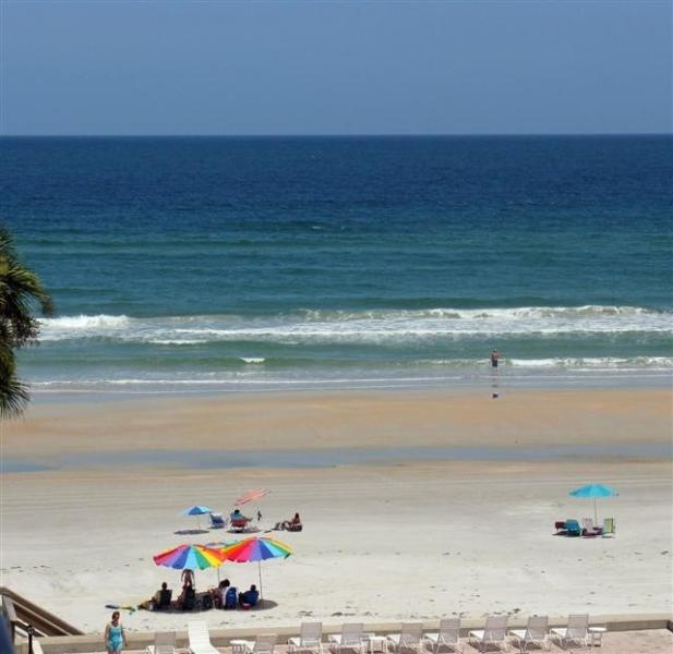 View from Balcony - BEAUTIFUL 2 BDR/2 BATH OCEANVIEW CONDO - New Smyrna Beach - rentals