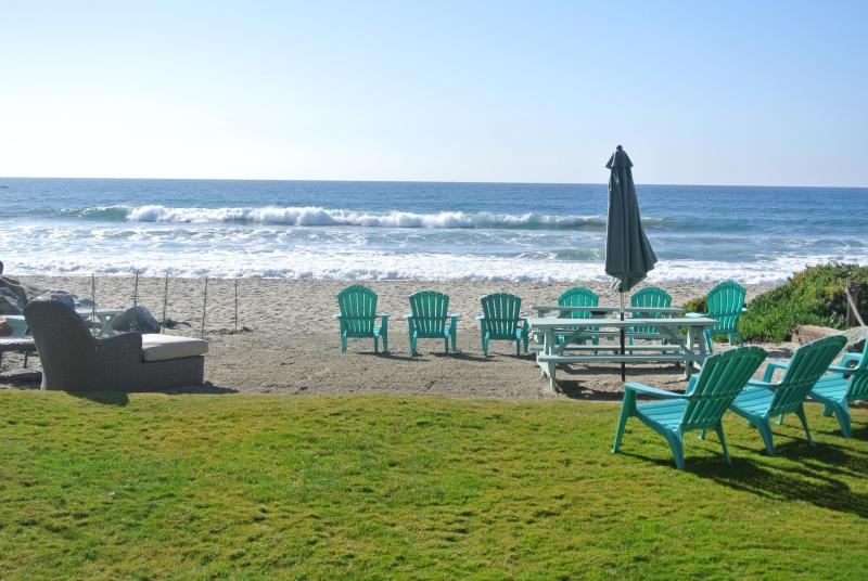 The only beach rental without a rock seawall to cross or climb over - Breathtaking Beach House Private Beach/Fire Ring - Oceanside - rentals
