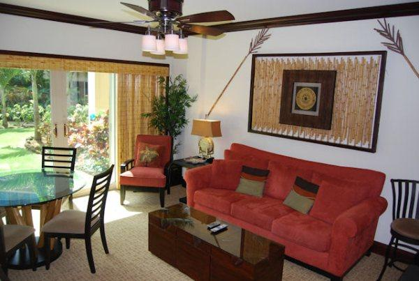 B103 Living Room - Waipouli Beach Resort B103 - Kapaa - rentals