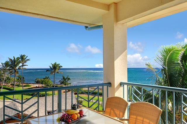 Oceanfront Lanai Dining - Waipouli Beach Resort H402 - Kapaa - rentals