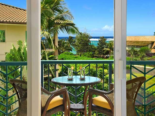 Lanai Oceanview - Waipouli Beach Resort F401 - Kapaa - rentals