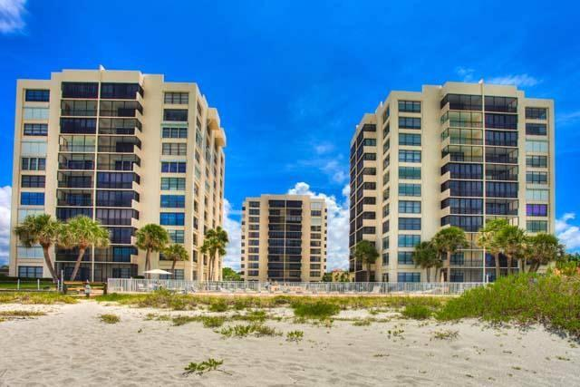 looking at Complex from Beach - Venice Island on BEACH 8th flr near Siesta Key - Venice - rentals