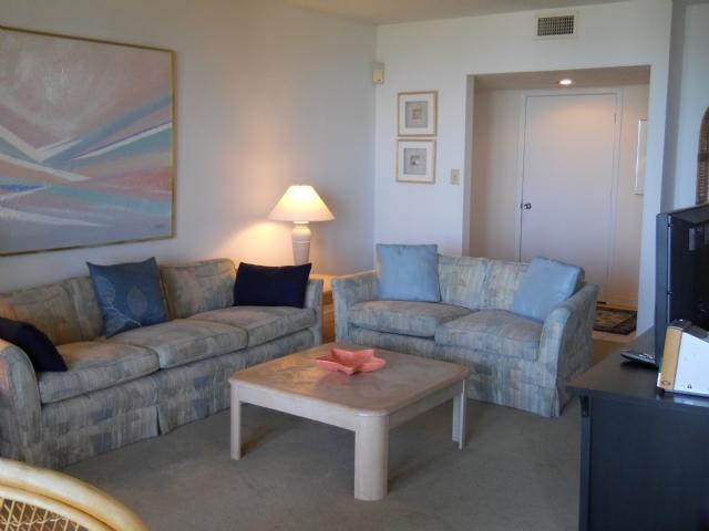 Living area - Shipwatch 1312 - Amelia Island - rentals
