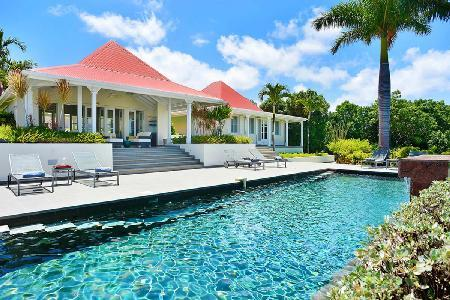 Sunny Belle Bague with  4 separated cottages faces west with heated pool & multi level terrace - Image 1 - Colombier - rentals