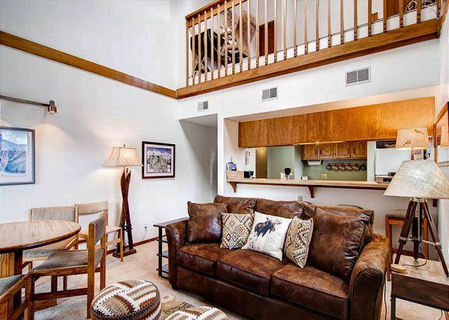 Mountainside Living Room Frisco Lodging - Mountainside 355A Condo Frisco Colorado Vacation Rentals - Frisco - rentals
