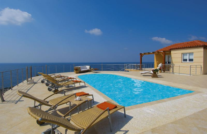 Tersanas Villas with amazing view and private pool - Image 1 - Akrotiri - rentals