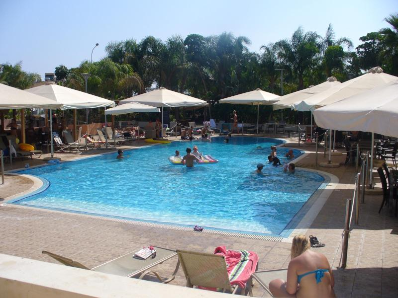 Swimming Pool - Shells Apartment...A Luxury 1 Bedroom Poolside Apartment in Ayia Napa - Ayia Napa - rentals