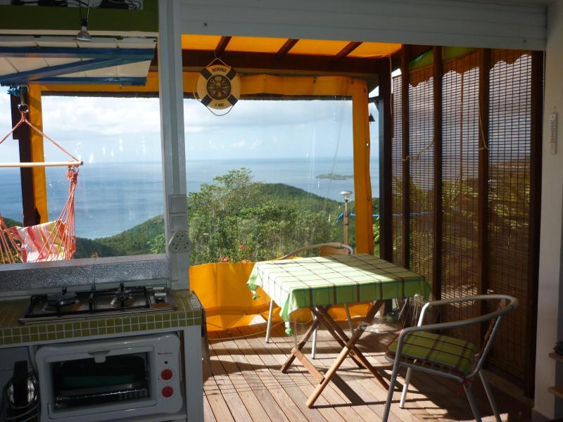 Paradis avec vue imprenable sur la mer des caraibes à Bouillante - Paradis avec vue imprenable à 180° à Bouillante - Le Gosier - rentals