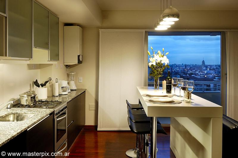 kitchen - 18th Floor (AF18) New building with Pool & Gym!! - Buenos Aires - rentals
