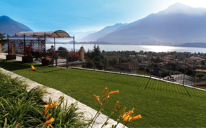 The big garden and the wonderful view - Villa Perla del Lago - Lake Como - rentals