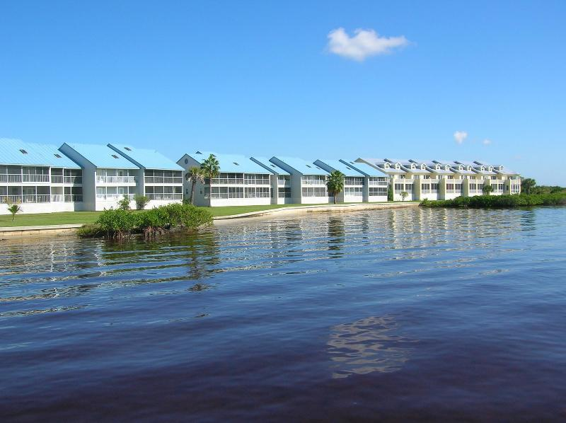 View of condos from the water - Harbour Village condo, waterfront views of harbor! - El Jobean - rentals