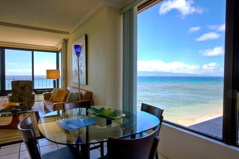 Maui Kai #308, Stunning Oceanfront 1-Bdroom corner - Image 1 - Kaanapali - rentals