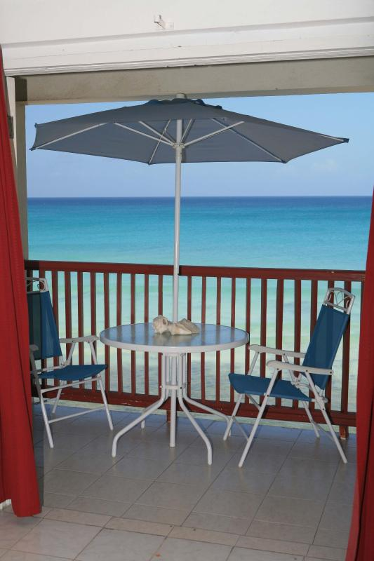 Beautiful Beach front Apartment - Image 1 - Oistins - rentals