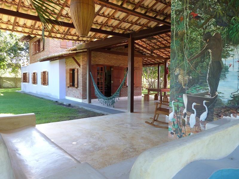 Beautiful big house and chalet 4000m2 full garden - Image 1 - Cabaceiras do Paraguacu - rentals