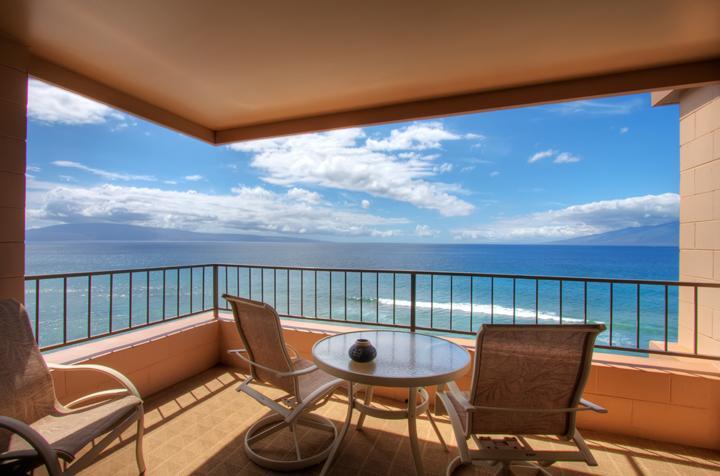 Lanai - 1-BEDROOM CORNER-Panoramic View-One of the BEST - Ka'anapali - rentals