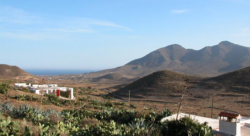 view from terrace - An unusual house in an extraordinary landscape - Las Negras - rentals