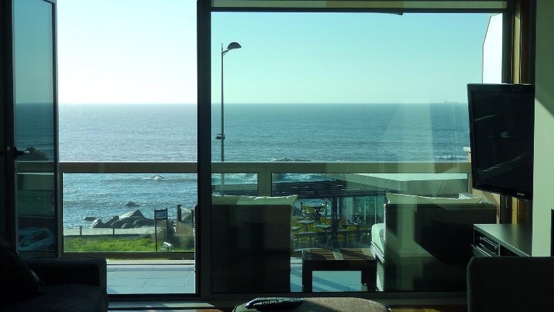 Beach front two bedroom condo with amazing view - Image 1 - Vila Nova de Gaia - rentals