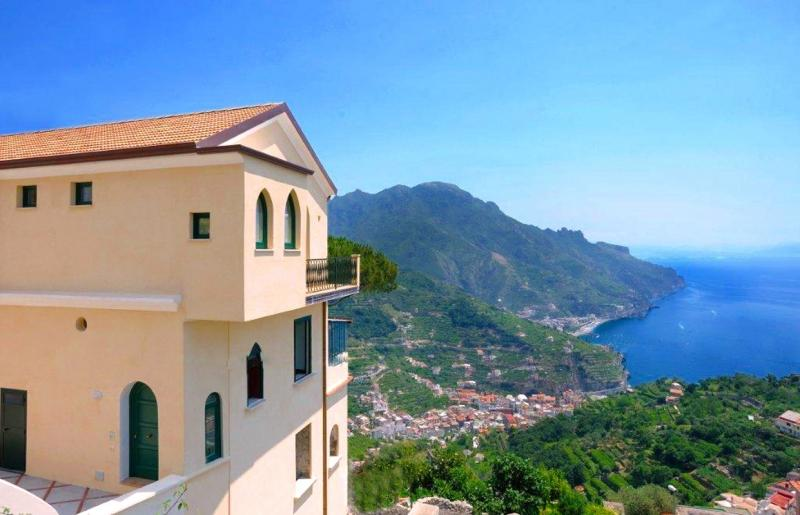 external part of the building - Apartment Emerald in the heart of Ravello - Ravello - rentals