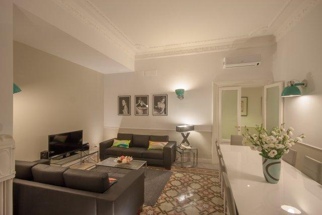 Living room - Settembrini - Rome - rentals