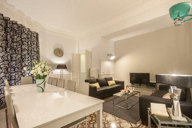 Living room - Settembrini - Rome - rentals