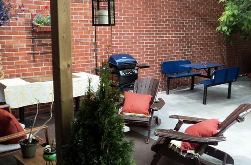 Patio 2 - Sunny loft Gay Village 2 room - Montreal - rentals
