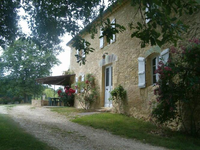 Grandfather's house*** for 6 persons - Horsefarm, 2 houses and a pool in Gascony - Bazian - rentals