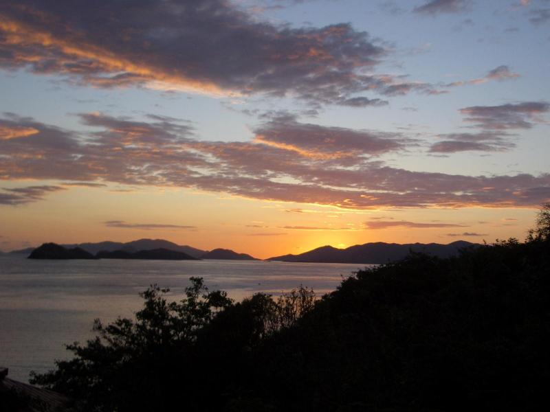 Sunrise from the balcony - 1 Bdrm Villa with ocean views  FREE WI FI in unit! - East End - rentals
