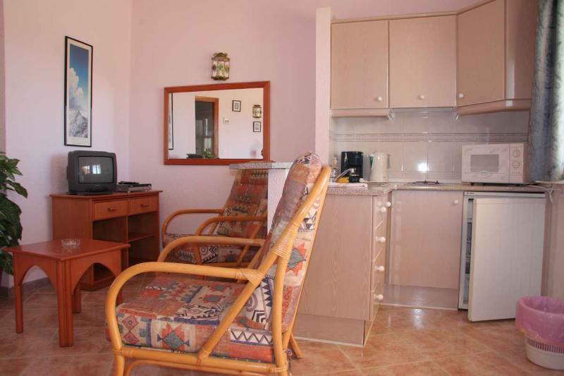 Sitting room with Kitchen standard standard - Apartementos SUITOTEL LAS COLINAS, San Juan de Los Terreros, Andalucia - San Juan de los Terreros - rentals
